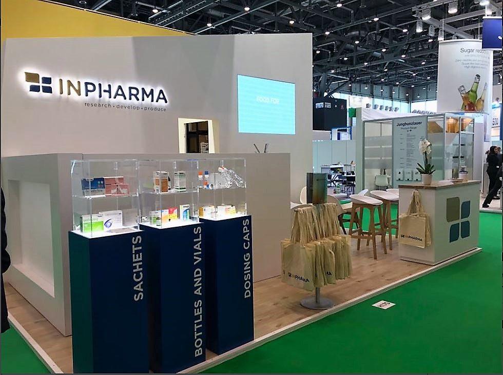 cosmofarma exhibition Inpharma stand